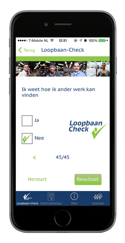 Loopbaan-Check Inschrijven loopbaancoaches