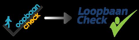 Loopbaan-Check van oud naar nieuw logo